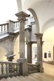 Storartad trappa Arkivbild