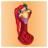 Storartad Turkiet-hane vid tacksägelsedag Arkivbilder