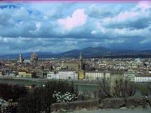 Storartade sikter av Rome, Italien Royaltyfria Bilder