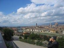 Storartade sikter av Rome, Italien Royaltyfri Fotografi