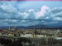 Storartade sikter av Rome, Italien Royaltyfri Foto