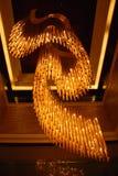 storartat hänge för lampa arkivbilder