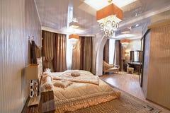 storartat sovrum Arkivbild