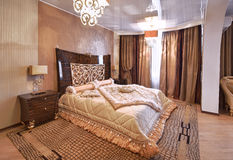 storartat sovrum Arkivfoto
