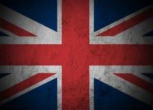 Storbritannien flagga. Fotografering för Bildbyråer