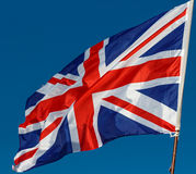 Storbritannien flagga Arkivbilder