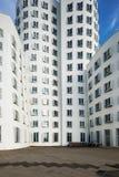 Storbystade arkitekturer i Dusseldorf Fotografering för Bildbyråer