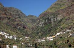 Stordimento Valle Gran Rey Fotografia Stock