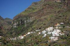 Stordimento Valle Gran Rey Fotografie Stock Libere da Diritti