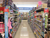 Store Aisle Royalty Free Stock Image