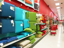 Store aisle Royalty Free Stock Images