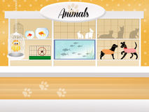 Store of animals Royalty Free Stock Image
