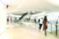 Store blur background Royalty Free Stock Photography
