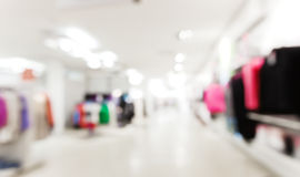 Store blur background Royalty Free Stock Image