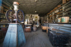 Store in Bodie Ghost Town Stock Images