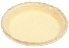 Store Bought Pie Crust Before Cooking Royalty Free Stock Photography