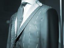 Store clothes dummy in suit shop. Store clothes dummy in men's suit shop photo Stock Photos