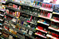 Store Cosmetic Asile Royalty Free Stock Photos