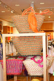 Store display with  handbags Royalty Free Stock Photography