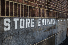 Store Entrance Royalty Free Stock Image