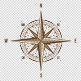 Store för någon riktning som du önskar att gå…, Vektorillustration Högkvalitativ illustration gammal stil Västra östligt, norr, s Arkivbilder