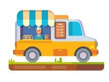 Store fast food van Royalty Free Stock Images