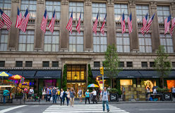 Store on  Fifth Avenue New York City Royalty Free Stock Photos