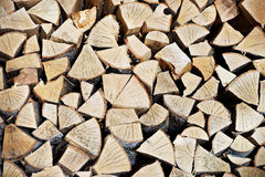 Store firewood Stock Image