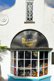 Store front of the 'Dr Martens' shoe store, Portmeirion Royalty Free Stock Images