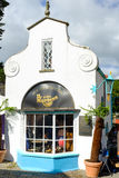 Store front of the 'Dr Martens' shoe store, Portmeirion Stock Images
