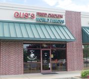 Gus's World Famous Fried Chicken Store Front Royalty Free Stock Photos