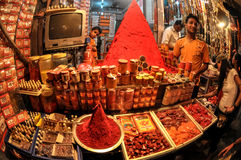 Store Front Pyramid, Rishikesh, India Royalty Free Stock Image