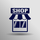 Store  icon Royalty Free Stock Photo