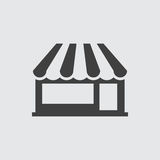 Store icon illustration Stock Photo