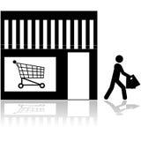 Store icon Stock Image