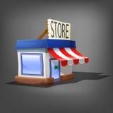 Store icon. Vector illustration. Stock Photo