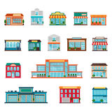 Store icons set Royalty Free Stock Image