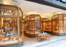The store of luxury goods, Dortmund, Germany. royalty free stock photos