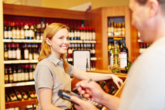 Store manager and saleswoman doing inventory Royalty Free Stock Image