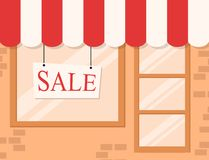 Store and Market background Royalty Free Stock Image