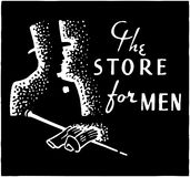 The Store For Men 3 Royalty Free Stock Photo