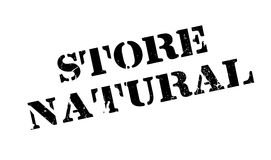 Store Natural rubber stamp Stock Image