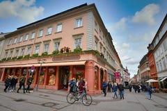 Store Of German Famous Souvenir Shop Käthe Wohlfahrt Stock Photo