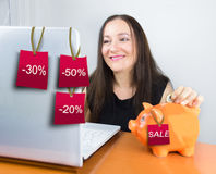 Store online Stock Photography
