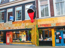 Store of paint and varnish products  in Gorinchem. Netherlandss Stock Image
