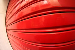 Store red shutter Stock Photography
