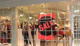 Store Sale Stock Photo