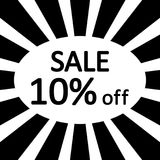 Store sale background. Royalty Free Stock Photos