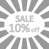 Store sale background. Stock Photo