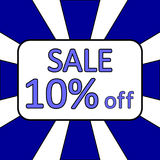 Store sale background. Royalty Free Stock Images